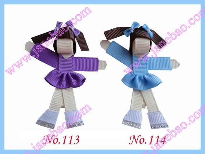 free shipping 2017 Newest  50 pcs Girl Bug Bow Clip character hair bows Todder Girls Party Hair bows clips