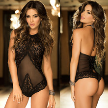 Duolafine Hot Erotic Sexy Lingerie Adult Sleepwear Sexy Porn Baby Doll Costumes Pajamas Teddy For Women Lace Porno Babydoll