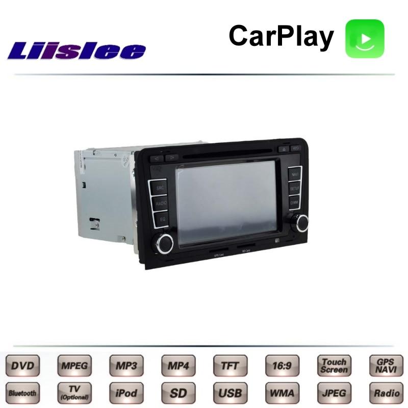 For Audi A3 8P 2003~2013 Car Multimedia TV DVD GPS Radio Carplay Original Style Navigation Liislee Advanced Navi 4