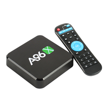 A96X Android 6.0 TV Box Amlogic S905X Quad-Core 1GB 8GB UHD 4K TV Box HDR10 H.265 VP9 2.4G WiFi Smart Media Player Set top Box(China)