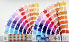 2017 1845 kinds Color Bridge Coated and Uncoated Paper Color Guide GP6102N(China)