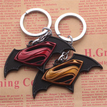 2017 Sale Alloy Plated Home Decoration Canada Beer The New Batman Superman War Series Wars Key Buckle keychain(China)