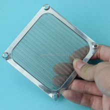 5 Pieces lot 80mm PC Computer Fan Cooling Dustproof Dust Filter Case fr Aluminum Grill Guard