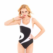 Female Swimwear Racer Back High Cut Women Swimming Racing Suit Competition Swimsuits Girls Professional Swim Patchwork Swimsuit