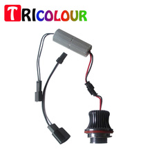 TRICOLOUR 2015 Hot Sales h8 led angel eyes LCI markers 7000K 12V Multi Colors for BMW E90/ E91 FREE SHIPPING #LN11