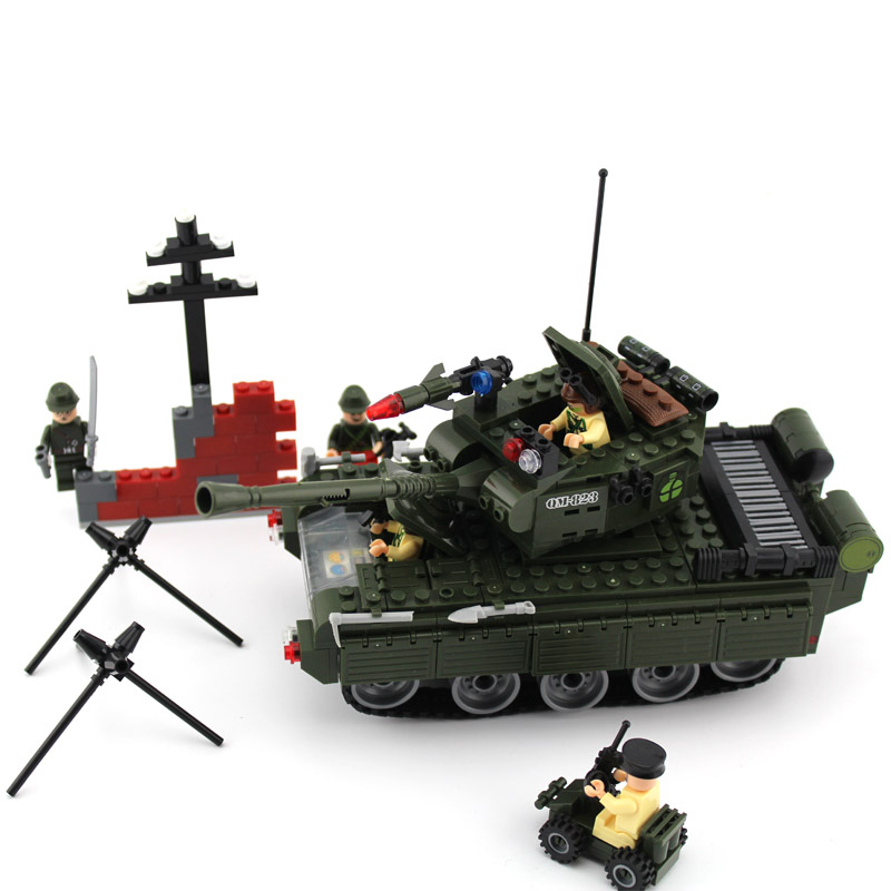 model building kits compatible with lego city tank 846 3D blocks Educational model &amp; building toys hobbies for children<br><br>Aliexpress