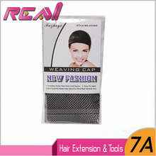 6Pcs Wig Cap Hair Weave Cap Black Hair Nets High Stretchable Elastic Hairnets For Wig Wearing Caps(China)
