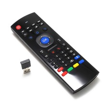 MX3 IR 2.4G Wireless Remote Control  Keyboard Air Mouse For PC Android TV Box 81 keys