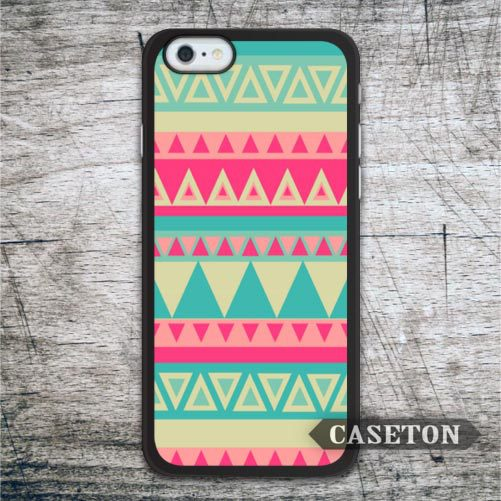 Retro Green and Pink Aztec font b Case b font For font b iPhone b font