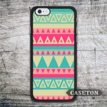 Retro Green and Pink Aztec Case For iPhone 7 6 6s Plus 5 5s SE 5c and For iPod 5 Classic Lovely Protective Ultra Cover