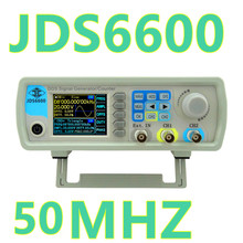 JDS6600 Series  Digital Control Dual-channel DDS Function frequency meter Arbitrary  Signal Generator 50MHZ 30%off