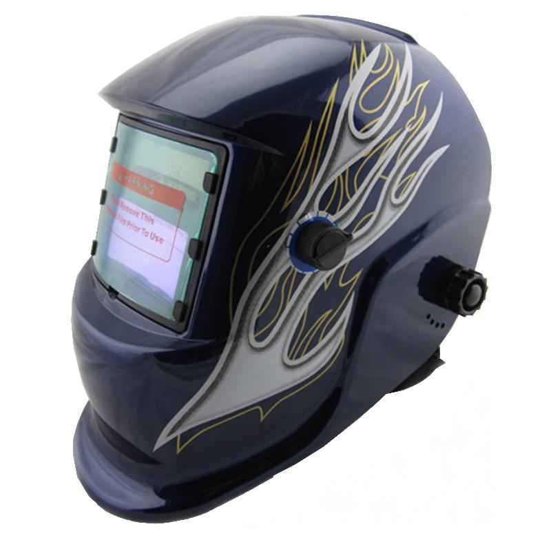 Nice apperance Li Battery+Solar auto darkening welding helmet/face mask welding mask for plasma cutter &amp; TIG MMA MIG MAG Machine<br>