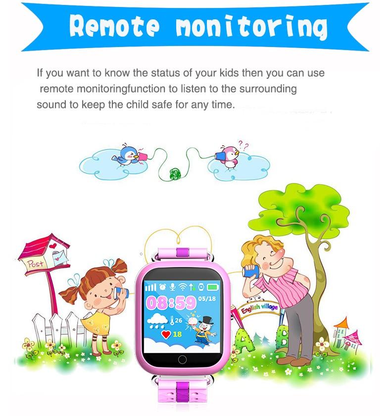 smart baby watch smartwatch smartwach Q100 (13)