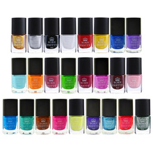 BORN PRETTY 6ml Stamping Polish 25 Colors Varnish Nail Plate Printing Polish Stamping DIY Nail Art Tools
