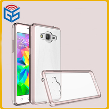 2 In 1 Soft Bumper Case Clear Back Hard Cover For Samsung Galaxy Grand Prime 2016 G530 G530H Prime Plus Prime+ J2 Prime G532
