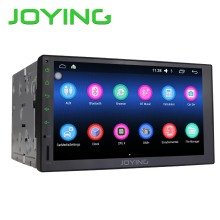 Joying Car Multimedia Player For Universal Quad Core Android 6.0 1024*600 HD Full Touch Screen Double 2 Din Car Radio Head Unit