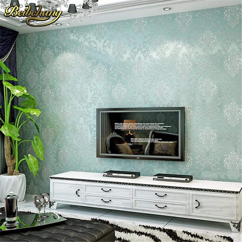 beibehang 3D wallpaper 3d European living room wallpaper bedroom sofa tv backgroumd of wall paper roll papel de parede listrado<br>