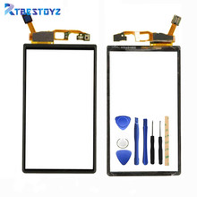 Touch Screen Digitizer Front Glass Panel For Sony Ericsson Xperia Neo V MT15i MT11i MT15 Touchscreen Sensor Replacement(China)