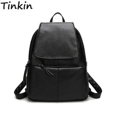 Women Cost-effective Backpack Vintage College Student School Backpack Bags for Teenagers Vintage Mochila Casual Rucksack Daypack(China)