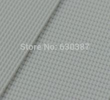 ABS31 4pcs ABS Plastic Styrene Plasticard Roof Tiles Sheet 215mm x 300mm White(China)