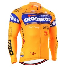 Cycling Jersey Bicycling Clothing MTB Long Sleeve Print Crossroad Mountain Bike Tops Shirts Outdoor Bicycle Jesery For LOVERS