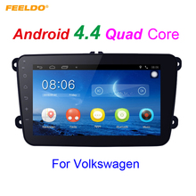 "8"" Ultra Slim Android 4.4.2 8inch Quad Core Car Media Player With GPS Navi Radio For VW Golf /Polo/Passat/Jetta/Tiguan/Touran"