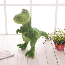 Super Soft Cute Animal Stuffed Plush Toys Dinosaur Green Peluche Animali Birthday Gift Oyuncak Bebek Large Stuffed Dolls 60G0281