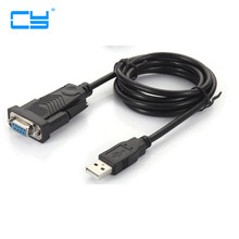 Usb to Rs232 serial cable female port switch USB to Serial DB9 female serial cable USB to COM(China)