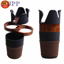 New Arrival Multi-function Car Accessories Central Storage Box Phone Drink Cup Holder Organizer dr29