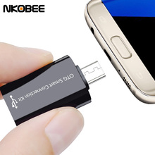 NKOBEE Micro Usb OTG Adapter 2.0 Converter For Samsung Galaxy S7 Edge S6 HTC LG Sony Xiaomi Meizu Android Tablet Smart otg cable