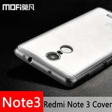 Buy xiaomi redmi note 3 pro case silicone thin clear MOFi original xiomi redmi note3 cover back clear TPU coque note 3 prime fundas for $5.25 in AliExpress store