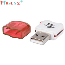 Reliable High Speed Mini USB 2.0 Micro  TF T-Flash Memory Card Reader Adapter SDHC micro Card Reader/Writer