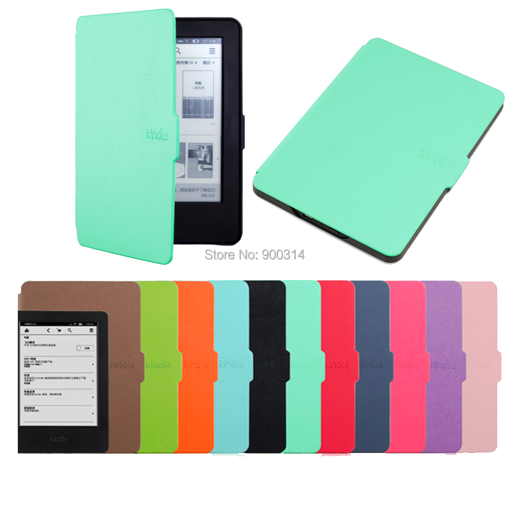 Case For amazon 2014 new kindle touch screen 6 7th generation super slim  protective cover +screen protector and stylus<br><br>Aliexpress