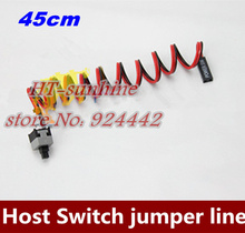 NEW 30pcs/lot Host switch line power line ATX computer case power switch cable motherboard switch jumper(China)