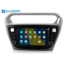 For Peugeot 301 For Citroen Elysee 2013 2014 2015 Android 4.4.4 S160 Automotivo Car PC Auto Monitor Car Radio DVD GPS Autoradio