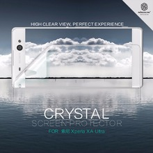 2 pcs/lot screen protector For Sony Xperia XA Ultra NILLKIN Crystal Super clear protective film with retailed package