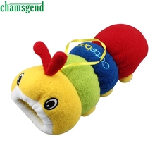 CHAMSGEND Modern Baby Milk Bottle Plush Pouch Soft Covers Keep Warm Holders 500ml Cartoon Caterpillar, fish Toy Gift Mar01