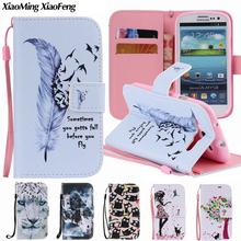 For Coque Samsung Galaxy S3 Case Leather Wallet Flip Case Luxury Phone Cover For Samsung Galaxy S3 Cover Samsung S3 Neo Hoesje(China)