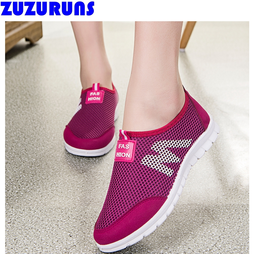 women outdoor tenis trainers shoes ultra light flat mesh shoes ladies girls breathable shoes flats chaussure femme zapatos 112w<br><br>Aliexpress
