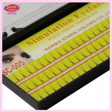 3D Makeup Eyelash 0.10mm C Curl 8/10/12mm Natural False Eyelashes Long Fake Lashes Soft Mink Eyelashes Extension