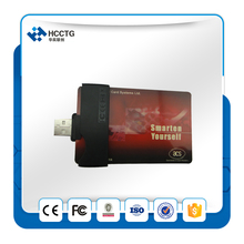 Portable Mini Smart Card USB Reader CAC Common Access Card Reader Writer ID SCM Smart Fold ACR38U-N1