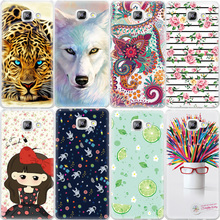 Animals Flowers Fruits Printed Pattern Phone Bag Cases For Samsung Galaxy S3 S4 S5 S6 S7 Edge TPU Silicone Protector Cover Case