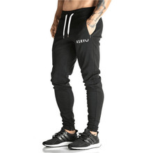 Golds Pants Mens Tracksuit Bottoms Cotton Fitness Skinny Joggers Sweat Pants Pantalones Chandal Hombre Casual Pants(China)