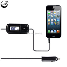 Smartphone Car Kits Radio FM Transmitter 3.5mm Aux Audio Headphone Jack Handsfree Talk 5V/1A USB Car Charger For iPhone iPad