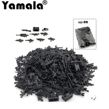 [Yamala] DIY Military Series Swat Police Gun Weapons Pack Army Brick Arms For City Police Batman Best Children Gift Toys