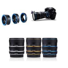 Auto Focus AF Extension Tube/Ring Set Lens Adapter For Canon EOS automatic Sports Action Video Cameras Accessories