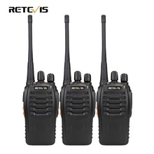 3pcs Walkie Talkie Retevis H777 16CH UHF 400-470MHz Ham Radio HF Transceiver 2 Way Radio Communicator Handy A9104(China)