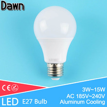 Top Quality LED Bulb E27 220v 3W 5W 7W 9W 12W 15W 18W Ball Bulb Light Lamp LED Lampada Lampara Bombilla Ampoule Energy saving(China)