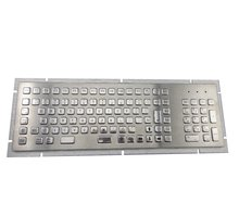103 keys NEMA 4/4x or IP65 Industrial/kiosk Metal PC Keyboard with stainless steel metal body for CNC machine,control platform
