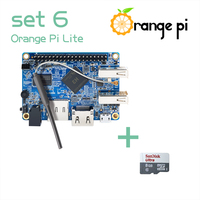 Orange Pi Lite SET6: Pi Lite and 8GB Class 10 Micro SD Card Supported Android, Ubuntu, Debian Above Raspberry